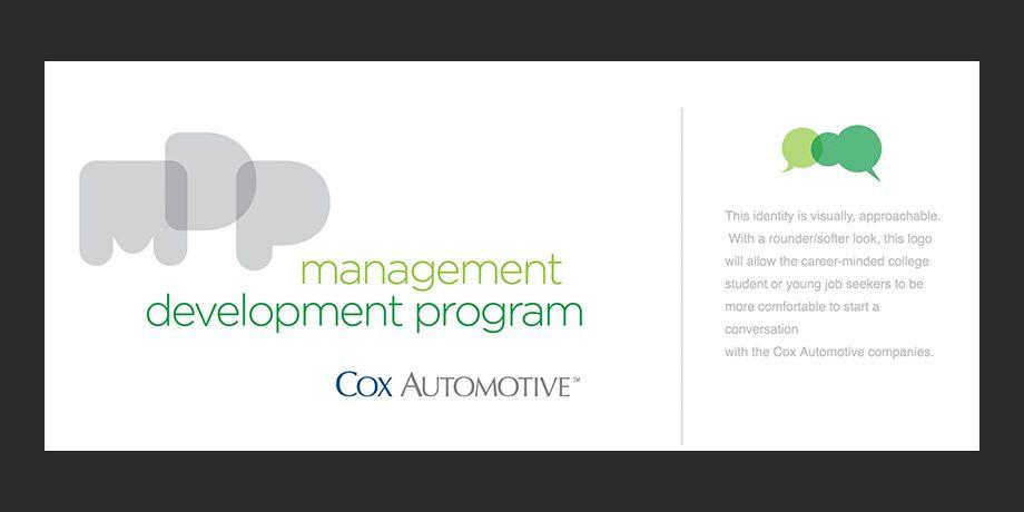 Cox Automotive: Management Development Program Identifer Design