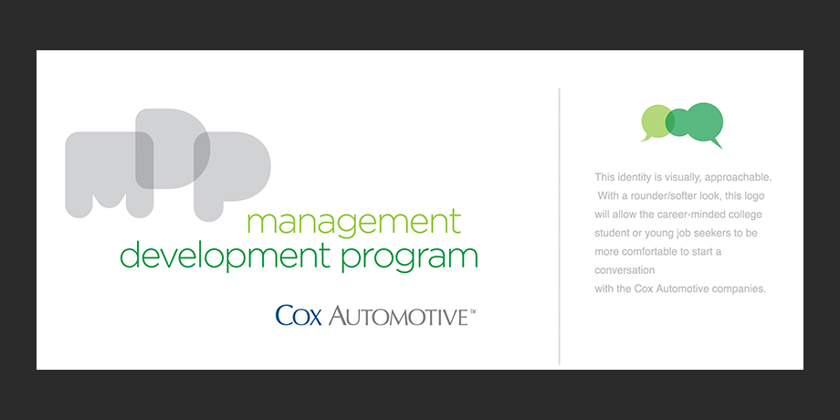 Cox Automotive: Management Development Program Identifer Design
