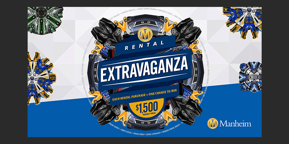 Manheim: Rental Extravaganza Kaleidoscope Promotion