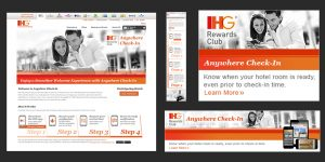 IHG: AnyWhere Check-In Campaign