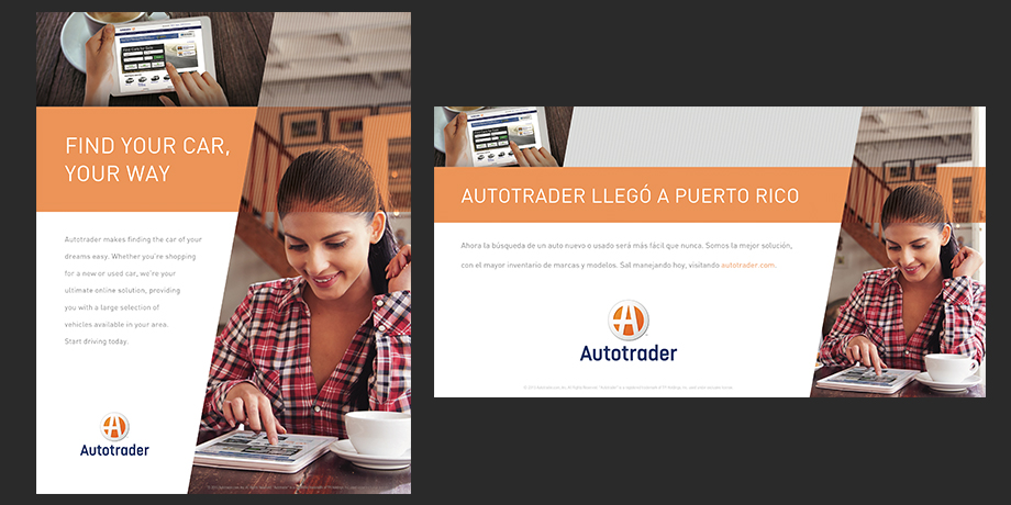 Autotrader: Find Your Car, Your Way Print Ads