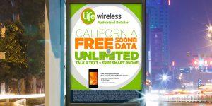 Life Wireless: Transit Poster