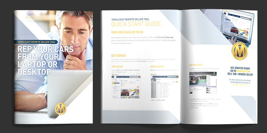 Manheim: Simulcast Remote Seller Tool Brochure