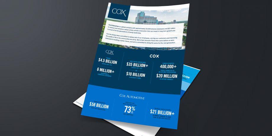COX-A4 Sheet